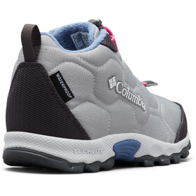 Columbia Firecamp 2 WP Zapatillas Mid Niños, monument/bluebell